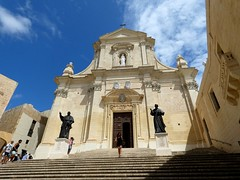 The Cathedral (Linda DV (away)) Tags: lindadevolder lumix geomapped geotagged travel europe malta 2017 mediterraneansea island gozo gozosightseeingtour victoria rabat ribbet