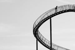 Duisburg, Germany (gstads) Tags: duisburg germany deutschland bw blackandwhite monochrome tigerandturtle ruhrgebiet ruhr steps stairs architecture lines