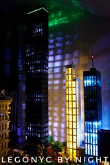 LegoNYC by night (sponki25) Tags: legonyc lego nyc night lights custom lighting kits new york highrise buildings