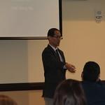 Dr. Kang-Na shares his presentation.