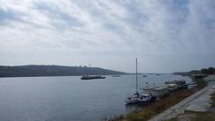 In portul Oltenita