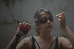 Needles (Noe Britez) Tags: agujas needles heart bleading selfportrait myself despair