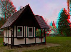Pavillon ( 3D ) (GerWi) Tags: brücke haus pavillon fz1000 3d stereo strase ort