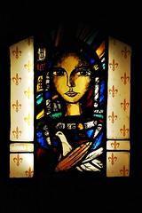 3 - Reims - Cathédrale Notre-Dame - Jeanne d'Arc par Greg Tricker (melina1965) Tags: reims marne grandest octobre october 2017 nikon d80 église églises church churches vitrail vitraux stainedglasswindow stainedglasswindows