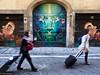 Trolley (sladkij11) Tags: streetfotofirenze streetphotography porta leone labbra lips valigia trolley lion occhi eyes olympus em10
