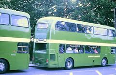 Slide 107-56 (Steve Guess) Tags: epsom downs surrey england gb uk racecourse lcbs london country strathclyde leyland atlantean an alexander 406f