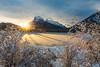 1L0A8841 (kayaker72) Tags: banffnationalpark banff banffalberta banffcanada canada canadianrockies mountrundle mtrundle rockies mountains sunrise vermilion vermilionlakes