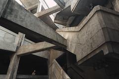 12512 (Panda1339) Tags: 28mm leicaq 1933 monochrome 上海 architecture abatoir summiluxq shanghai sh 老场坊 escher