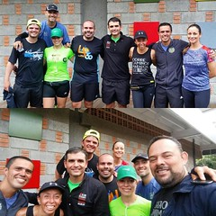 Fondo con lluvia. #soycorrecaminos #phillymarathon #marathontraining #costarica #runningteam #runners #runningintherain☔