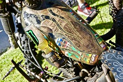 Rusty Rat Bike (*SIN CITY*) Tags: bike motorcycle motor motorbike rat ratbike 250cc xt tt600 oldschool old motocycle veteran vets bikeshow custom cool kool 7d canon lowrider queensland australia oz aussie ride qld rusty bikes custompaint dirtylove handmade petina