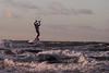Kitesurfing in Warnemünde (3) (Lens Daemmi) Tags: 2017 balticsea herbst ostsee warnemünde autumn fall kitesurfing herwart stormy storm deep depression
