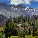 Hillsides and Mountain Peaks Above Lucerne Campground thumbnail