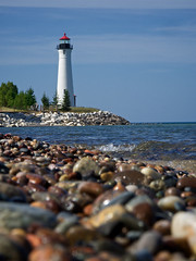Crisp Point Lighthouse (daveumich) Tags: upperpeninsula michigan lighthouse crisppointlighthouse lakesuperior greatlakes