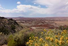 Painted Desert (Webfoot5) Tags: nationalpark painteddesert arizona landscape desert clouds cloudy