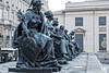 6 statues DSCF0019 (mich53 - thank you for your comments and 4M view) Tags: statue arts musée orsaymuseum muséedorsay fujifilm xt2 paris france fonte parvis