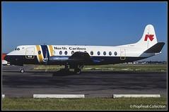 C-GWPY / YVR 08.1983 (propfreak) Tags: propfreak propfreakcollection slidescan cyvr yvr vancouver cgwpy vickers viscount v806 northcaribooair gaoyh bea britishairways britishairferries baf northeastairlines gbnaa euroair tunisavia