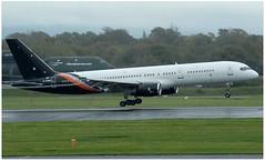(Riik@mctr) Tags: manchester airport egcc gpowh airplane tree grass sky titan airways boeing 757 msn 29308 ex echir tcogt