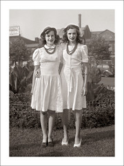 Fashion 0397-18 (Steve Given) Tags: socialhistory familyhistory fashion girls sisters teens teenagers