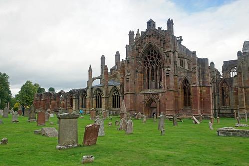 2017-08-26 09-09 Schottland 165 Melrose Abbey