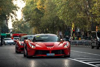 Ferraris are coming.