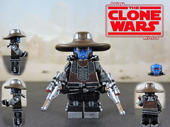 Custom LEGO Star Wars The Clone Wars: Cad Bane Minifigure (lego wolf 42299) Tags: starwars clonewars lego custom cadbane
