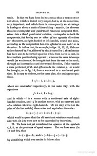 Lectures on Quaternions, by Sir William Rowan Hamilton (1853)