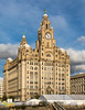 Liver Building, Liverpool. UK (staneastwood - 1.7 million views - Thank you all.) Tags: liverpool england unitedkingdom gb staneastwood stanleyeastwood water river riverbank mersey birkenhead sky building architecture window liver tower liverbird clock clockface statue