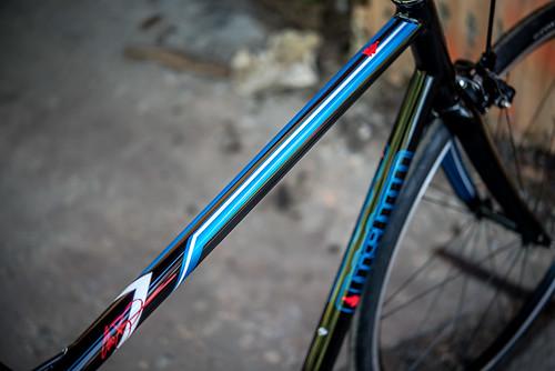 Chad's Fillet brazed Sram tap road bike