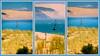 Triptyque de la Dune du Pilat - Bassin d'Arcachon - France (Stéphane Mesmin) Tags: 2017 33 arcaconbay bassindarcachon dune dunedupilat france gascogne gironde guyenne nouvelleaquitaine ocean océanatlantique pyla sudouest triptyque reseau