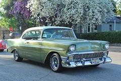 21st Annual La Verne Cool Cruise (USautos98) Tags: 1956 chevrolet chevy belair hotrod streetrod custom