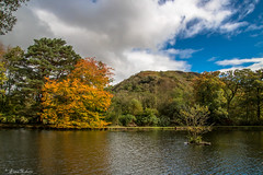 Across the boating lake (Eiona R. [Busy over the Weekend]) Tags: penycae wales unitedkingdom gb craigynos wfc