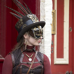 Whitby Goth Weekend, October,2017 (Kingsley_Allison) Tags: whitby northyorkshire nikon d7200 dracular goth graves bramstoker halloween ghosts steampunk