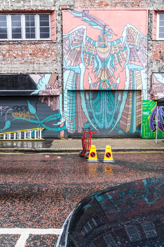 EXAMPLES OF URBAN CULTURE IN BELFAST [STREET ART AND GRAFFITI]-132923