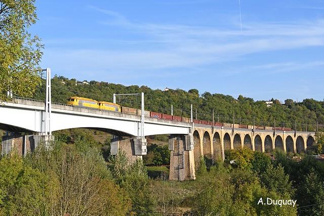 UM BB 67617-67622 St Jory-Limoges. Viaduc de Lamothe Souillac. 12.10.2017 by arnaud.duquay -