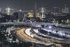 Tokyo Wangan Night (spiraldelight) Tags: ef70300mmf456isusm eos5dmkii night traffic trails tokyo 東京 rainbowbridge skytree