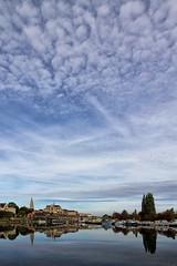 """""""Moutons"""" auxerrois (jjcordier) Tags: auxerre nuage yonne rivière cirrus bourgogne"""