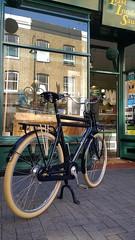 October in Walthamstow (Dan K ™) Tags: transportfiets workbike cycling dutchstyle cortina london cortinafietsen opafiets dutchbike