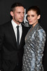 Honoree Jamie Bell (L) and actor Kate Mara attend the 21st Annual Hollywood Film Awards at The Beverly Hilton Hotel on November 5, 2017 in Beverly Hills, California. (Photo by Frazer Harrison/Getty Images for HFA)