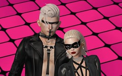 Leather & Latex (Close-up) (DaniGraphix Resident) Tags: hausofgraphelle secondlife sl avatar fantasy fashion bdsm ds domme submissive iheartsl latex leather epiphany