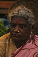 Best of 2017 (nadeemk333) Tags: portraitmode portraitlove portraitphotgraphy portraitmood old faces streetviews vendors flower market bangalore bangalorelife dailyviews
