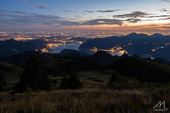 Love this place (Andrea Moraschetti Photography) Tags: ngc sunset view landscape place italy italian places city lights lake iseo brescia lombardia mountains tree trees summer evening sky clouds colors colorful visitbrescia visitlombardia mount guglielmo