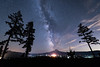 Milky Way at Mount Hood (Mike_Y_Wong) Tags: usa oregon portland mounthood hoodriver milkyway astro astrolandscape astrophotography nightscape nightsky pacificnorthwest pnw longexposure