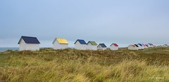 The cabins.... (crispin52) Tags: france normandy seascape cabins nature beach nikon colors