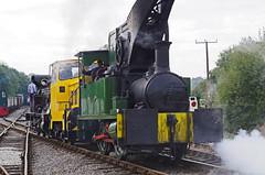 Foxfield Railway Loco's (ROPERUNNER) Tags: foxfield cranetank beyerpeacock rsh70631942 belerpophen whinston hunslet foxfieldcolliery dubs thomashill diesel locomotive