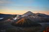 Indonesia | Mt. Bromo Sunrise (Nicholas Olesen Photography) Tags: indonesia asia mount bromo volcano national park mountains sunrise outdoors morning early sky landscape nature steam smoke travel nikon d7100