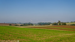 On a sunny morning in late September. (andreasheinrich) Tags: landscape nature fields trees bushes autumn morning september colorful sunny germany badenwürttemberg neckarsulm dahenfeld deutschland landschaft natur felder bäume büsche herbst morgen farbenfroh sonnig nikond7000