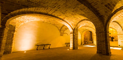 Courtyard (Raoul Pop) Tags: marche columns fortress grottammare travel arches bricks city winter italy europe places castle italia it