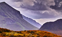Skye Mountain view near Sligachan (Fr Paul Hackett) Tags: skye mountain herbage cloudy