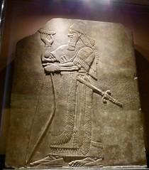 Fitzwilliam Museum, Cambridge (carolyngifford) Tags: fitzwilliammuseum cambridge relief ashurnasirpal alabaster