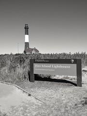The sign says it all (dylangaughan43) Tags: fireislandnationalseashore fireisland lighthouse newyork blackandwhitephotography blackandwhite cameraphone cellphonepic lg